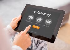 eLearning on a tablet